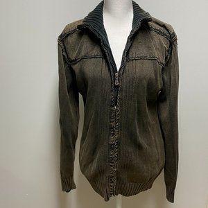 BKE Brown Zip Up Jacket